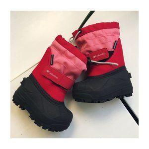 Columbia Powderbug II Snow Boots Size 5